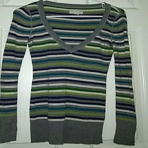 aeropostale striped  long sleeve sweater shirt